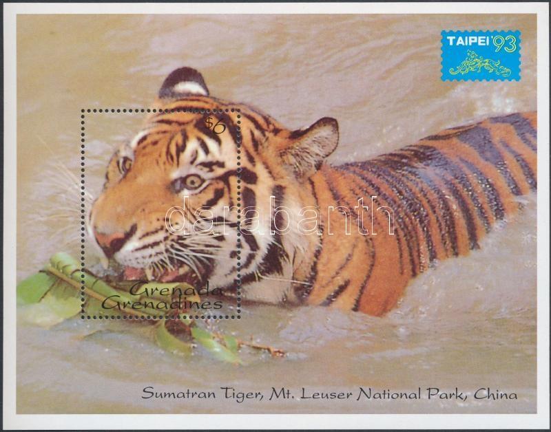 Stamp Exhibition - TAIPEI '93 block, Bélyegkiállítás - TAIPEI '93 blokk
