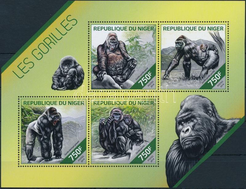 Gorilla mini sheet, Gorilla kisív