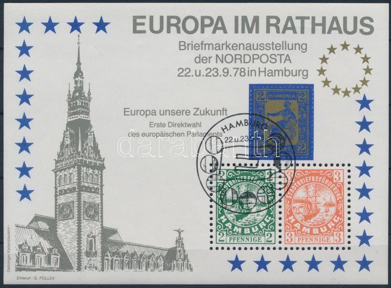 Nord Post memorial sheet, Nordposta emlékív