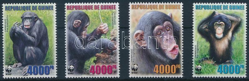 WWF Chimpanzee set, WWF: Csimpánz sor