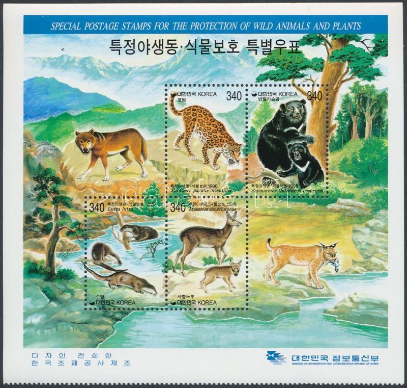 Nature protection mini sheet, Természetvédelem kisív