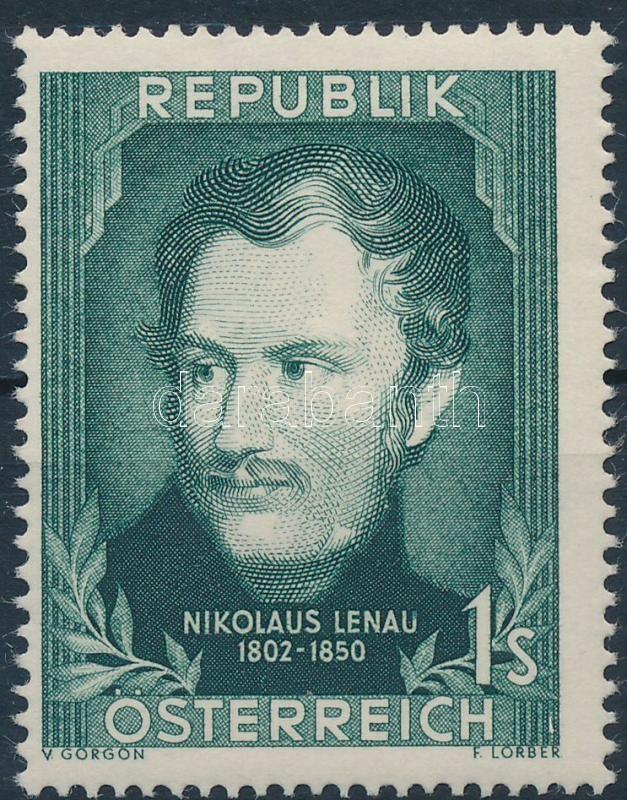 Nikolaus Lenau, 150 éve született Nikolaus Lenau