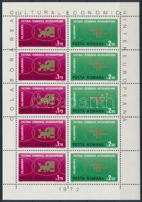 INTEREUROPA mini sheet, INTEREUROPA kisív
