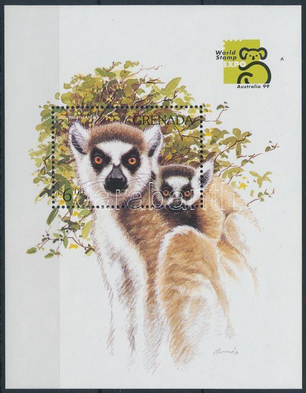 International Stamp Exhibition AUSTRALIA '99 block, Nemzetközi bélyegkiállítás AUSTRALIA '99 blokk