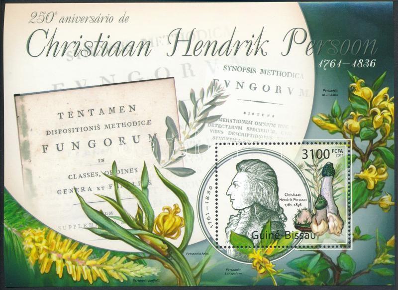 Christian Hendrik Persoon, Mushroom block, Christian Hendrik Persoon, gomba blokk