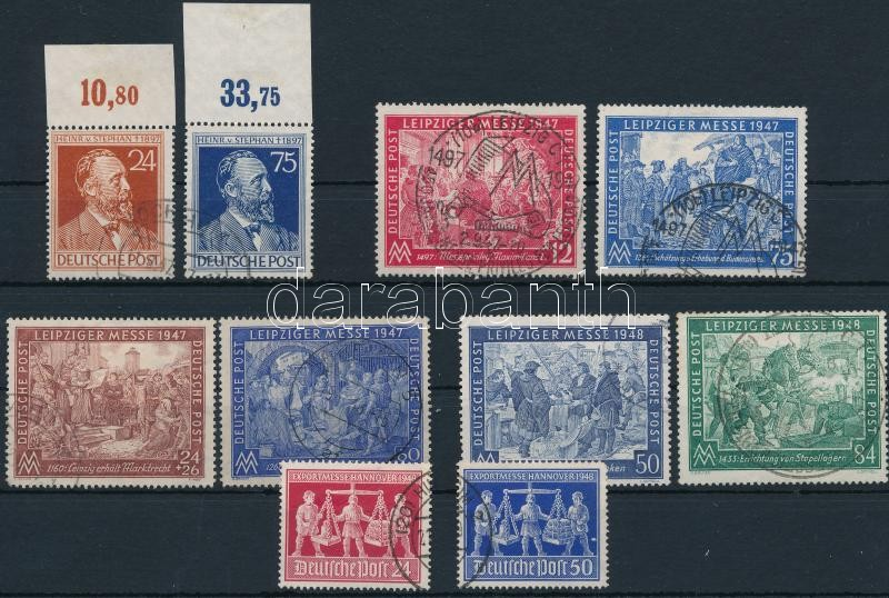 1947-1948 5 sets, 1947-1948 5 klf sor
