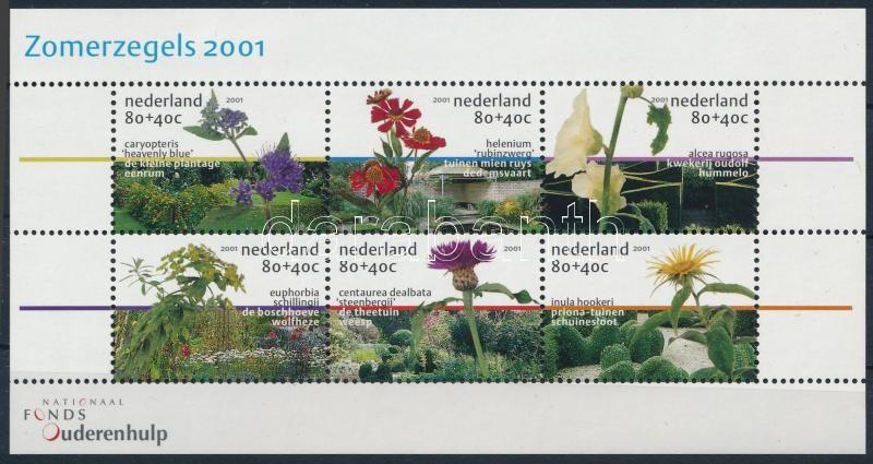 Gardens and flowers mini sheet, Kertek és virágok kisív
