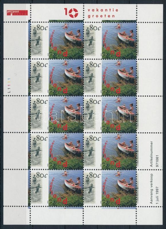 Turism block of 10, Turizmus 10-es tömb