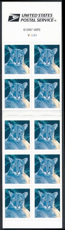 Puma stamp booklet, Puma bélyegfüzet