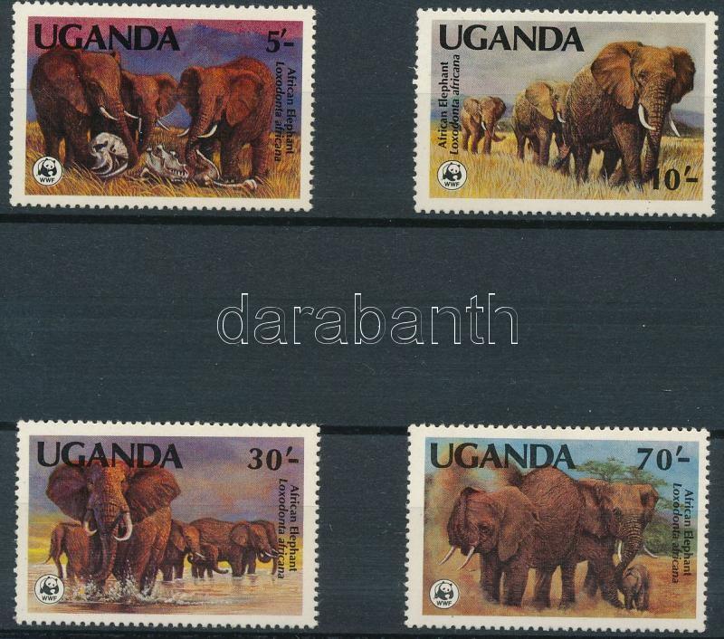 WWF: Afrikai elefánt (I.) sor, WWF African Elephant (I) set