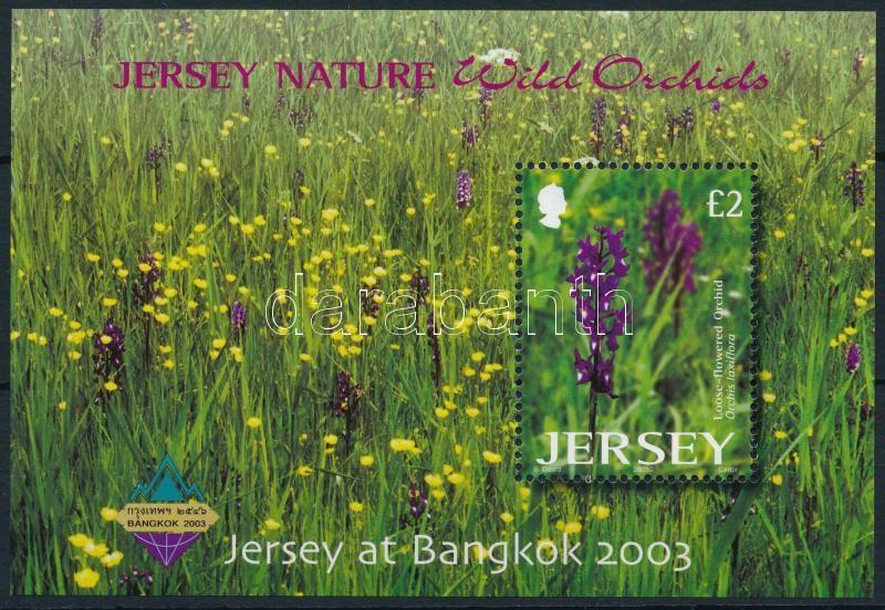 Orchids BANGKOK International Stamp Exhibition block, Orchideák, BANGKOK nemzetközi bélyegkiállítás blokk