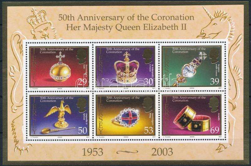 Elizabeth II.'s coronation anniversary block, II. Erzsébet koronázási évfordulója blokk