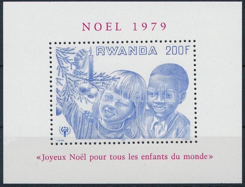 International Children's Year, Christmas block, Nemzetközi Gyermekév, Karácsony blokk