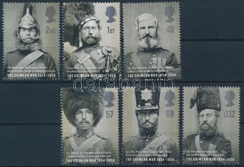 150th Anniversary  of the Crimean War set, A Krimi háború 150. évfordulója sor