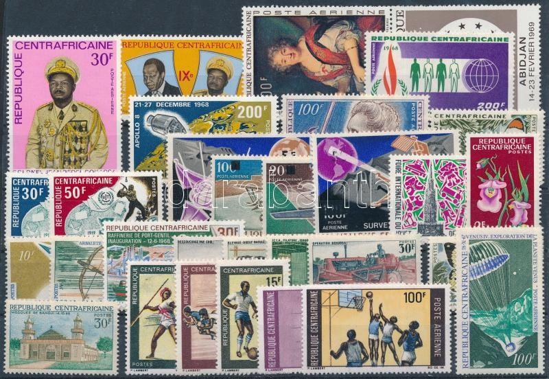 1963-1969 30 diff stamps with sets, 1963-1969 30 klf bélyeg, főleg teljes sorok