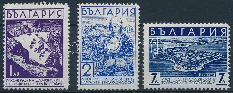 Slavic Geographic and Ethnographic Congress, Sofia set, Szláv földrajzi és etnográfiai kongresszus, Szófia sor