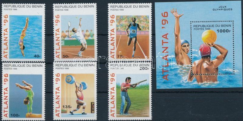 Nyári olimpia sor + blokk, Summer Olympics set + block