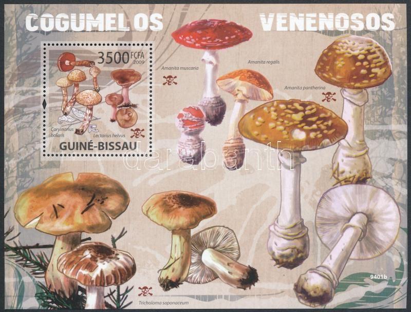 Poisonous mushrooms block, Mérgező gombák blokk