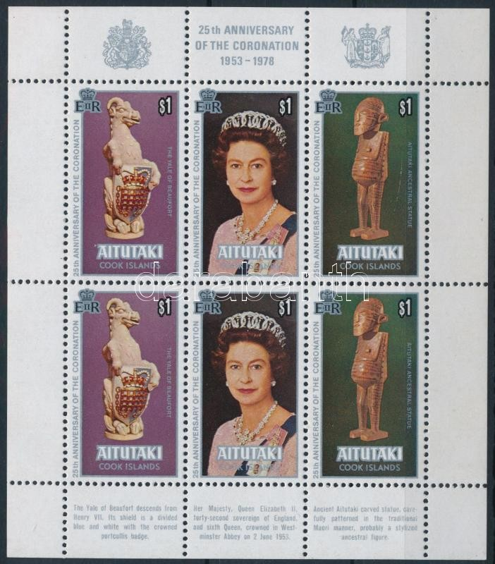 II. Erzsébet királynő kisív, Queen Elizabeth II minisheet