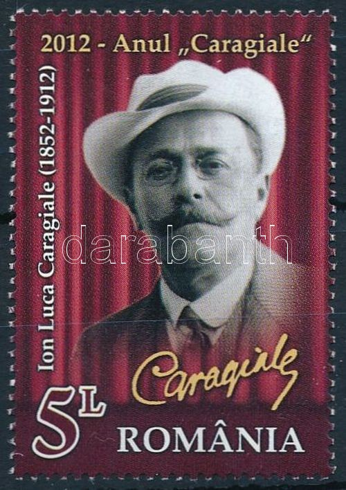 Luca Caragiale stamp, Luca Caragiale bélyeg