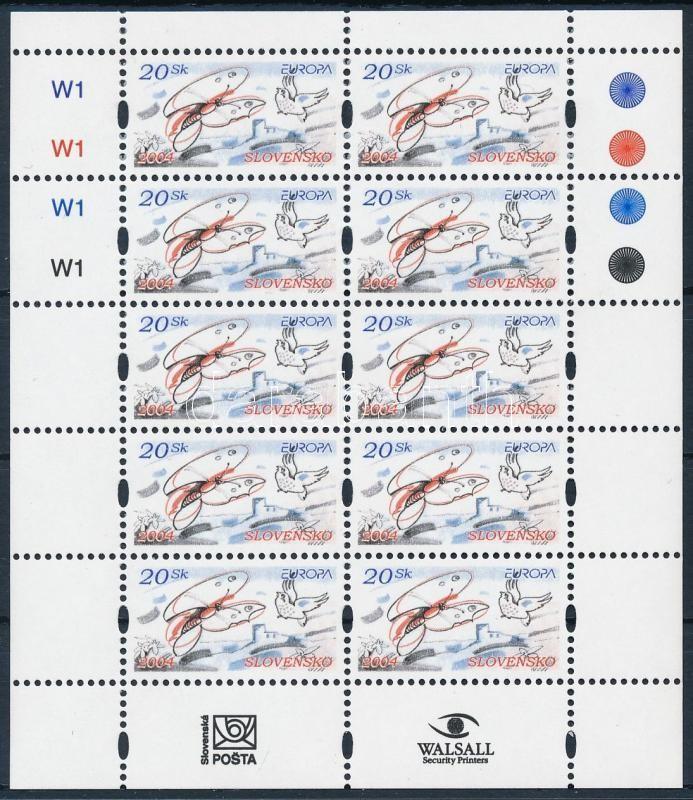 Europa CEPT: Vacation mini sheet, Europa CEPT: Vakáció kisív