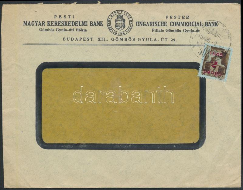 Inflation cover, (2. díjszabás) Helyi levél Kisegítő 2P/2P bérmentesítéssel