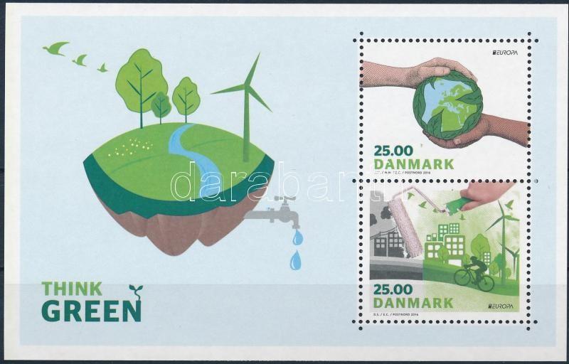 Europa CEPT, Environmental Awareness block, Europa CEPT, Környezettudatosság blokk