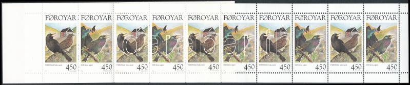 Singing Birds stamp booklet, Énekesmadarak bélyegfüzet