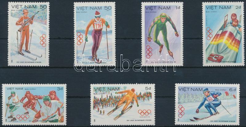 Winter Olympics, Sarajevo set, Téli olimpia, Szarajevó sor