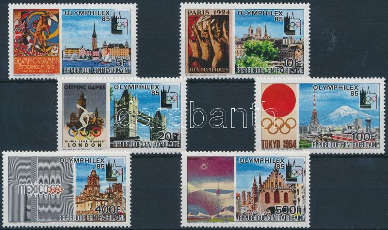 International Stamp Exhibition, Lausanne set, Nemzetközi bélyegkiállítás, Lausanne sor
