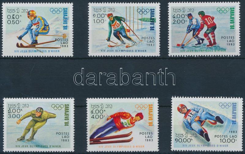 Winter Olympic, Sarajevo set, Téli Olimpia, Szarajevó sor