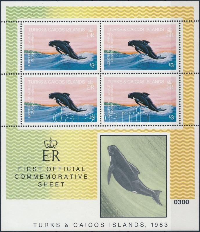 Dolphin mini sheet, Delfin kisív