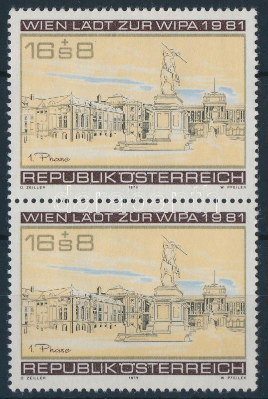 WIPA Stamp Exhibition pair, WIPA Bélyegkiállítás pár