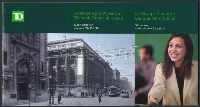 Bank self-adhesive stamp booklet, Bank öntapadós bélyegfüzet