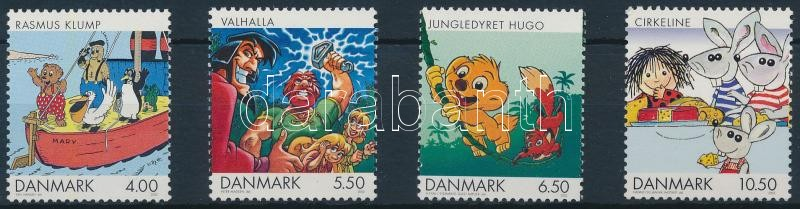 Dán rajzfilmek sor, Danish cartoons set
