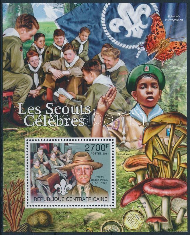 Scouting, mushrooms block, Cserkész, gomba blokk