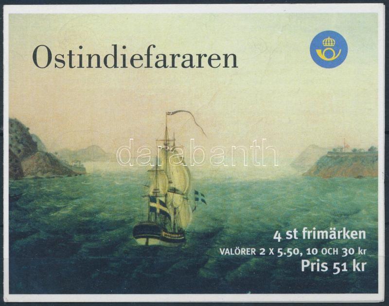 Ships stamp booklet, Hajók bélyegfüzet