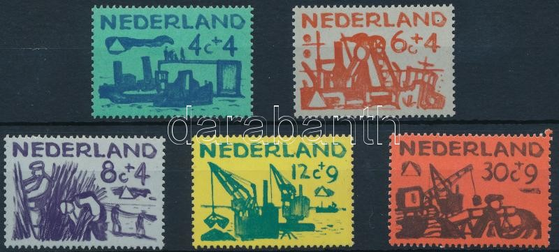 Summer stamps: work set, Nyári bélyeg: Munka sor