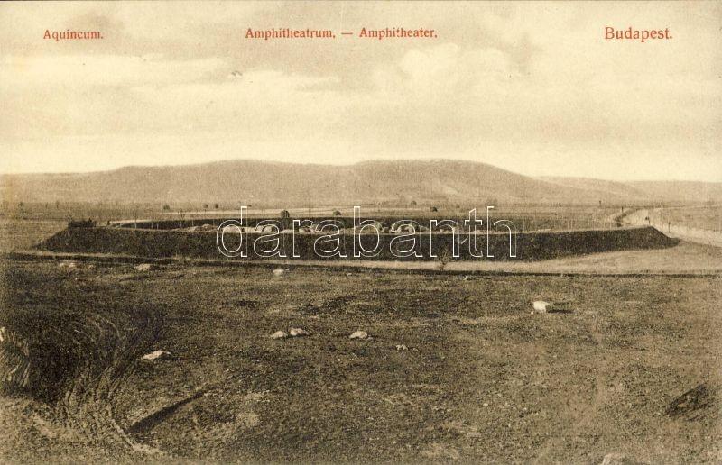 Budapest III. Aquincumi ásatások, Amphitheatrum
