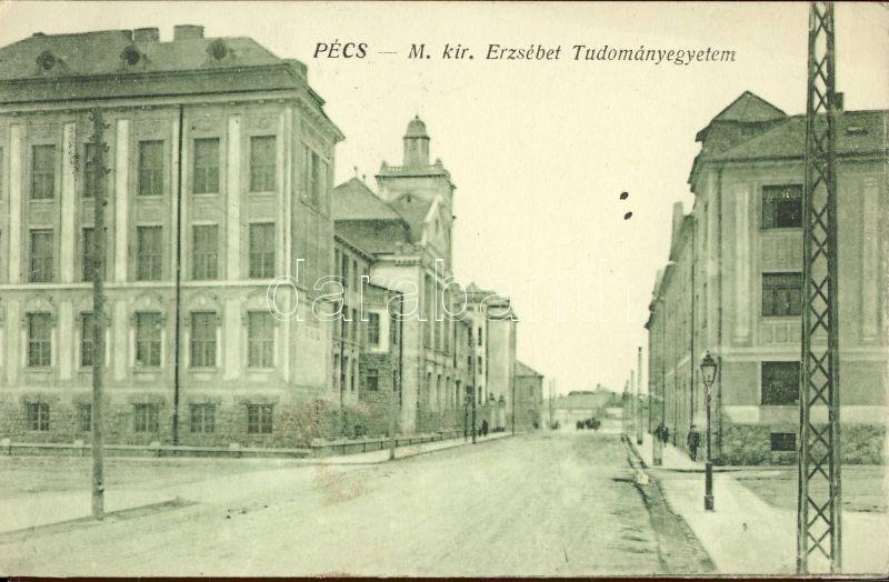 Pécs Magyar Királyi Erzsébet Tudományegyetem