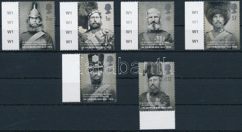 150th Anniversary of Crimean War margin set, A Krimi háború 150. évfordulója ívszéli sor