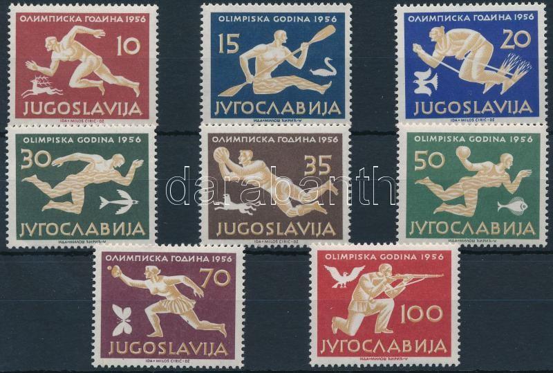 Summer Olympics, Melbourne set, Nyári Olimpia, Melbourne sor