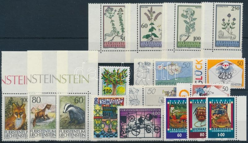 1992-1994 17 dif stamps with sets, 1992-1994 17 klf bélyeg, közte sorok