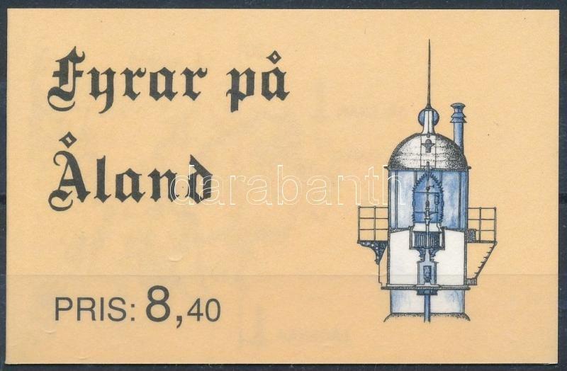 Lighthouses stamp booklet, Világítótornyok bélyegfüzet