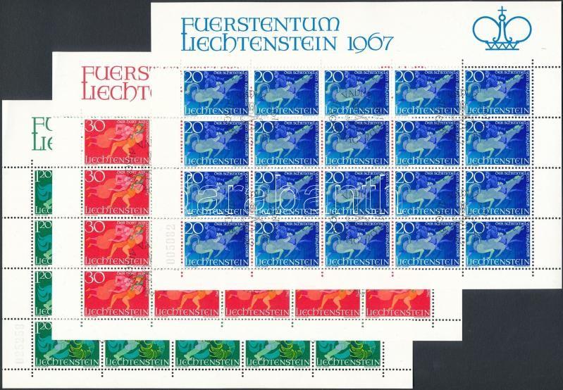 Legends (II) minisheet set with First Day Cancellation, Mondák (I) kisív sor elsőnapi bélyegzéssel