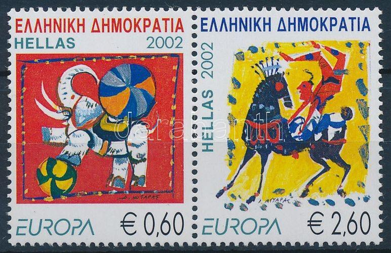 Europa CEPT: circus set in pairs, Europa CEPT: cirkusz sor párban