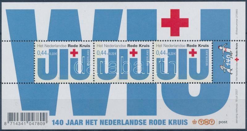 Red Cross block, Vöröskereszt blokk