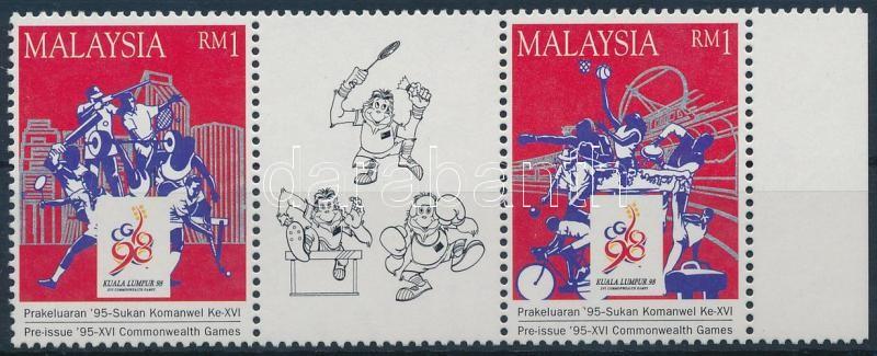 Commonwealth Games, Kuala Lumpur margin stripe of 3, Nemzetközösségi játékok, Kuala Lumpur ívszéli hármascsík