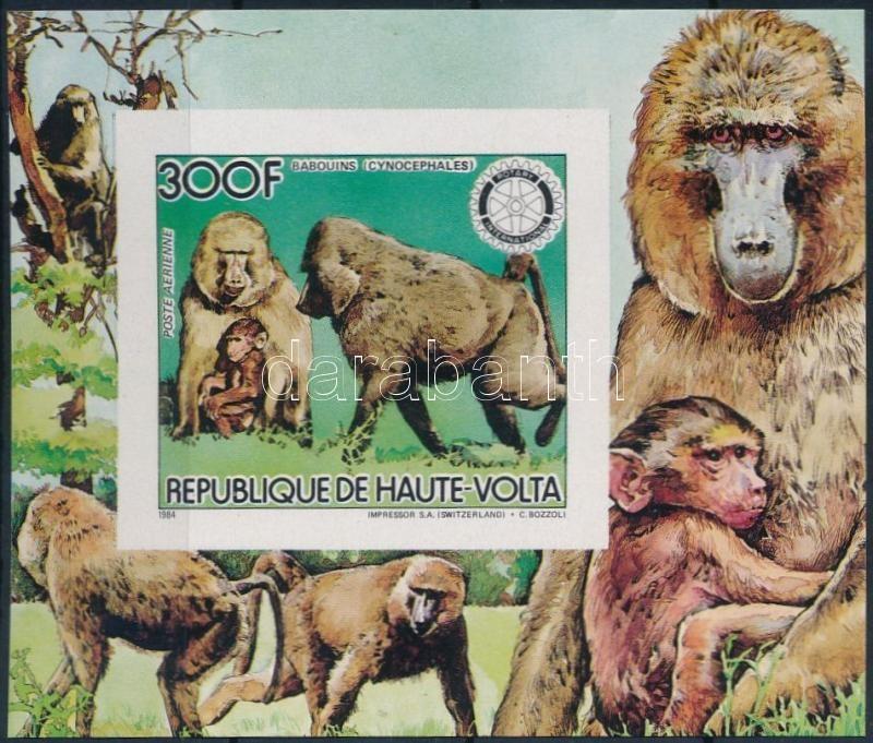 Monkey imperf block, Majom vágott blokk