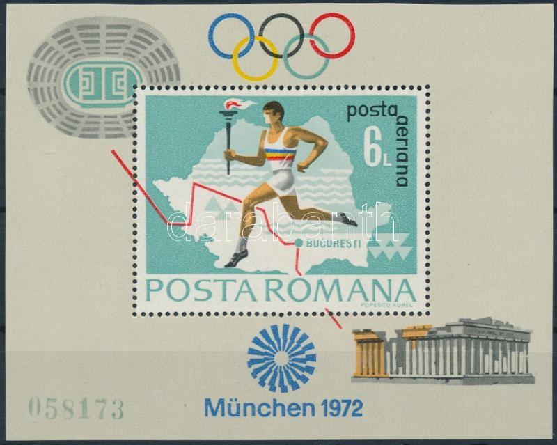 Summer Olympics, Munich block, Nyári Olimpia, München blokk